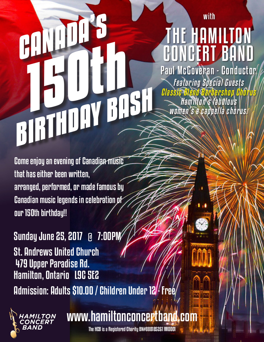 Canada's 150th Birthday Bash